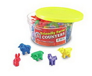 Learning Resources LER0180 Friendly Farm® Animal Counters, Set Of 72