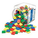 Learning Resources LER0203 Square Color Tiles, Set Of 400