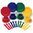 Learning Resources LER0294 Pretend & Play® Dish Set