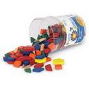 Learning Resources LER0334 1 Cm Wooden Pattern Blocks, Set Of 250