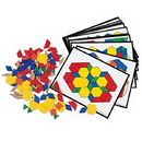 Learning Resources LER0335 Pattern Block Activity Set