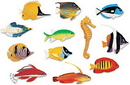 Learning Resources LER0407 Fun Fish Counters, Set Of 60