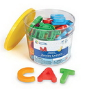 Learning Resources LER0450 Jumbo Uppercase Magnetic Letters