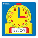 Learning Resources LER0573 Write & Wipe Demonstration Clocks