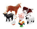 Learning Resources LER0694 Jumbo Farm Animals