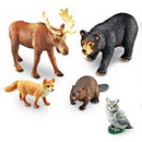 Learning Resources LER0787 Jumbo Forest Animals