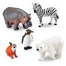 Learning Resources LER0788 Jumbo Zoo Animals