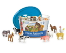 Learning Resources LER0810 Farm Animal Counters