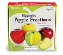 Learning Resources LER0904 Magnetic Apple Fractions