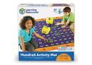 Learning Resources LER1100 Hip Hoppin' Hundred Mat™ Hundreds Activity Mat