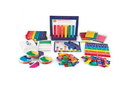 Learning Resources LER2088 Rainbow Fraction® Teaching System Kit