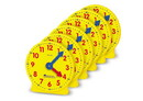 Learning Resources LER2202 Big Time™ Geared Mini-Clocks (Set of 6)