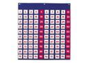 Learning Resources LER2208 Hundred Pocket Chart