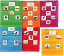 Learning Resources LER2386 Magnetic Pocket Chart Squares