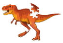 Learning Resources LER2389 Jumbo Dinosaur Floor Puzzle T-Rex