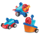 Learning Resources LER2840 1-2-3 Build It Car-Plane-Boat