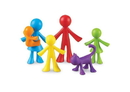 Learning Resources LER3372 All About Me Family Counters™