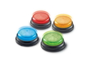 Learning Resources LER3776 Lights & Sounds Answer Buzzers, Set of 4