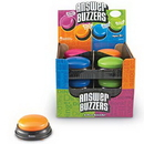 Learning Resources LER3777 Answer Buzzers, Set Of 12 In Display