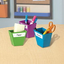 Learning Resources LER3807 Magnetic Create-A-Space™ Storage Bins