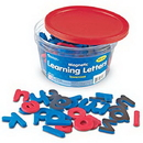 Learning Resources LER6297 Magnetic Learning Letters: Lowercase