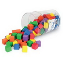 Learning Resources LER6334 Soft Foam Color Cubes™