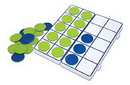 Learning Resources LER6650 Connecting Ten-Frame Trays
