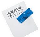 Learning Resources LER6652 Ten Frame Stamps