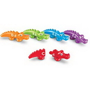 Learning Resources LER6704 Snap-N-Learn™ Alphabet Alligators