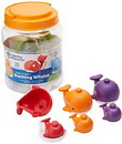 Learning Resources LER6709 Snap-N-Learn™ Stacking Whales