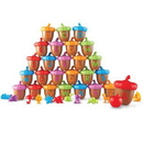 Learning Resources LER6802 Alphabet Acorns Activity Set