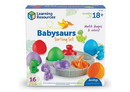 Learning Resources LER6807 Babysaurs Sorting Set