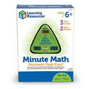 Learning Resources LER6965 Minute Math Electronic Flash Card™