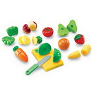 Learning Resources LER7287 Pretend & Play® Sliceable Fruits & Veggies