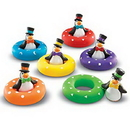 Learning Resources LER7308 Smart Splash® Color Play Penguins™