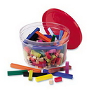 Learning Resources LER7513 Plastic Cuisenaire® Rods Small Group Set