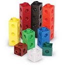Learning Resources LER7585 Snap Cubes®, Set Of 500