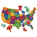 Learning Resources LER7714 Magnetic U.S. Map Puzzle