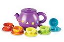 Learning Resources LER7740 Serving Shapes Tea Set