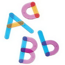 Learning Resources LER8555 Letter Construction Activity Set