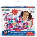 Learning Resources LER9162P Gears! Gears! Gears!® 100-Piece Deluxe Building Set
