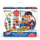 Learning Resources LER9162 Gears! Gears! Gears!® 100-Piece Deluxe Building Set