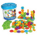 Learning Resources LER9164 Gears! Gears! Gears!® 150-Piece Super Building Set