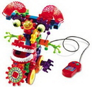 Learning Resources LER9202 Gears! Gears! Gears!® Wacky Wigglers® Motorized Building Set