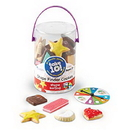 Learning Resources LER9444D Take 10! Shape Finder Cookies