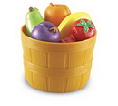 Learning Resources LER9720 New Sprouts® Bushel Of Fruit
