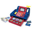 Learning Resources LSP2690C Pretend & Play® Calculator Cash Register - Canadian