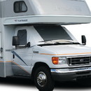 ADCO 2523 Class C Deluxe Windshield Cover With Roll-Up Windows For RV, White