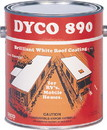 Dyco Paints 890 GAL Dyco XXX 890 RV And Mobile Home Roof Coating, White, Gal.