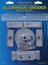 Martyr Anodes CMVERADO6KITA Mercury Verado 6-Cylinder Anode Kit - Aluminum